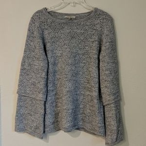 Elisabetta bell sleeve sweater